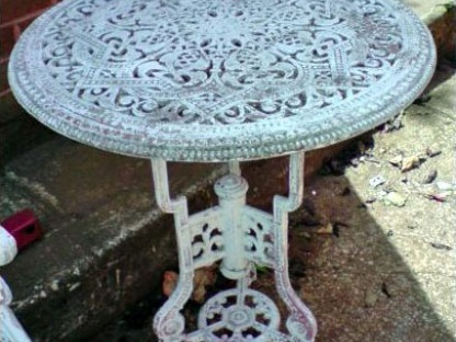 Garden Table To Be Refurbished